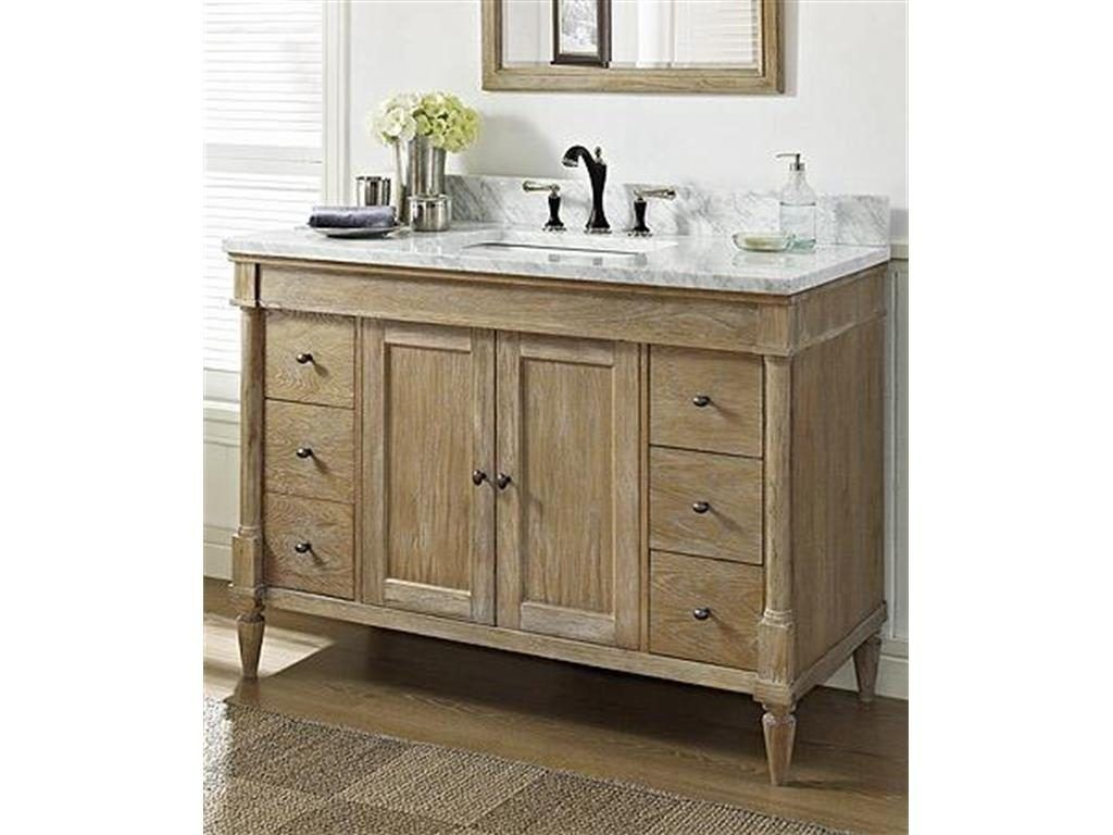 How To Select A 48 Inch Bathroom Vanity Rustic Chic Bathrooms