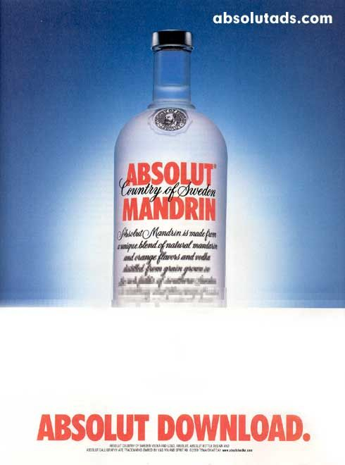 Absolut Download (3/3) | Absolut vodka reklama