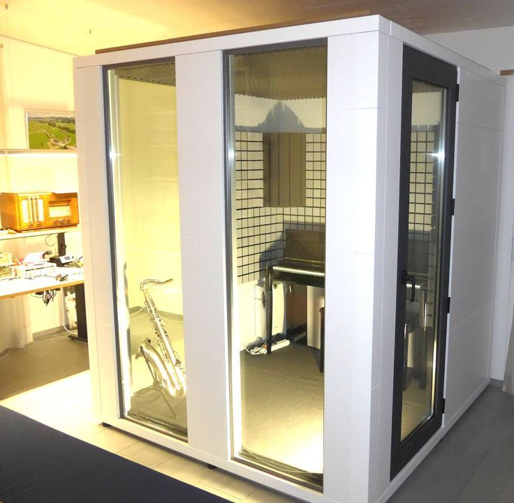 Image result for studiobricks acoustic glass booth | Music ...