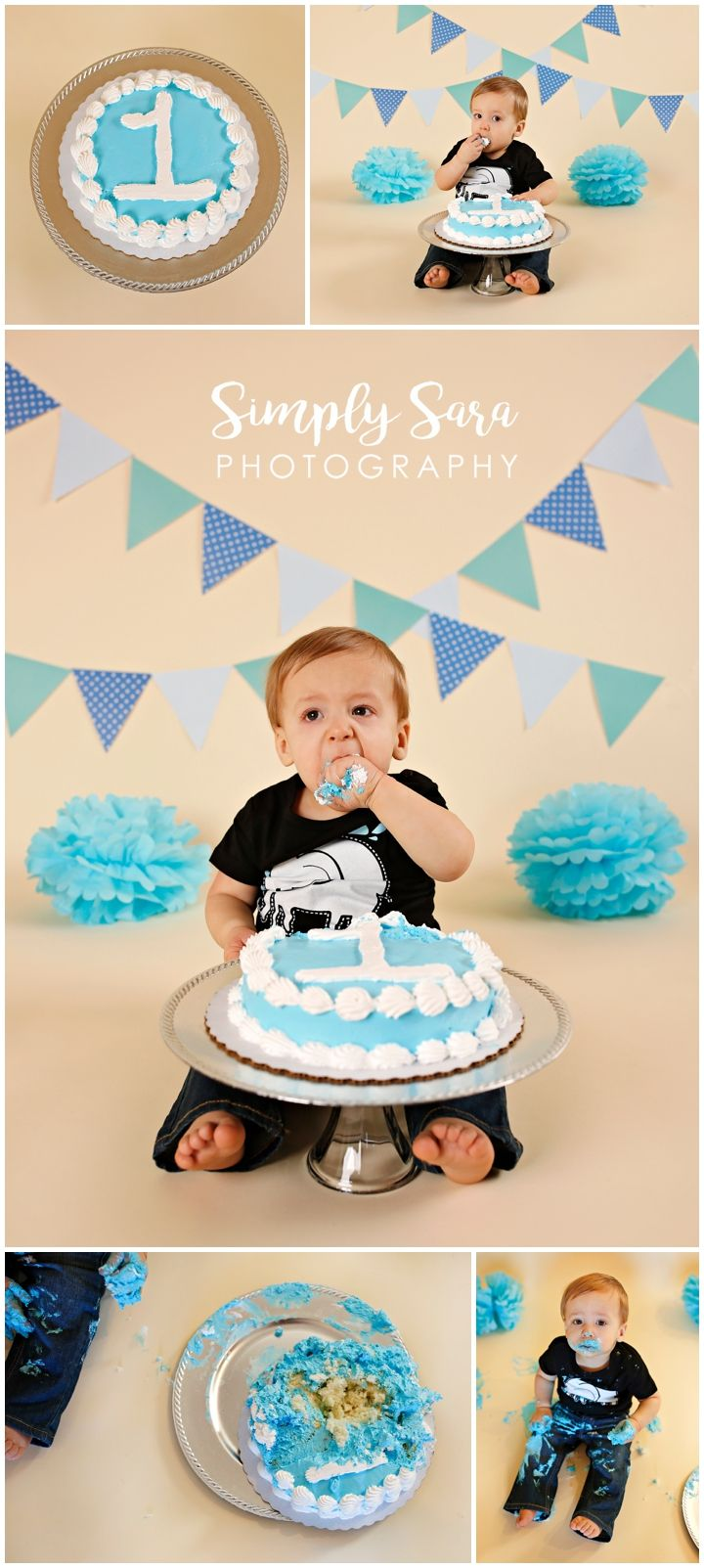 1 Year Old Boy Photo Shoot Ideas & Poses - Indoor Session ...