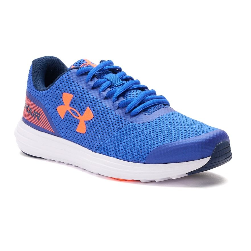 brand new ce52a 0778b Under Armour Surge Grade School Boys  Running Shoes, Size  4, Blue