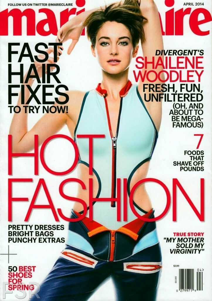 Marie Claire USA for their April 2014
