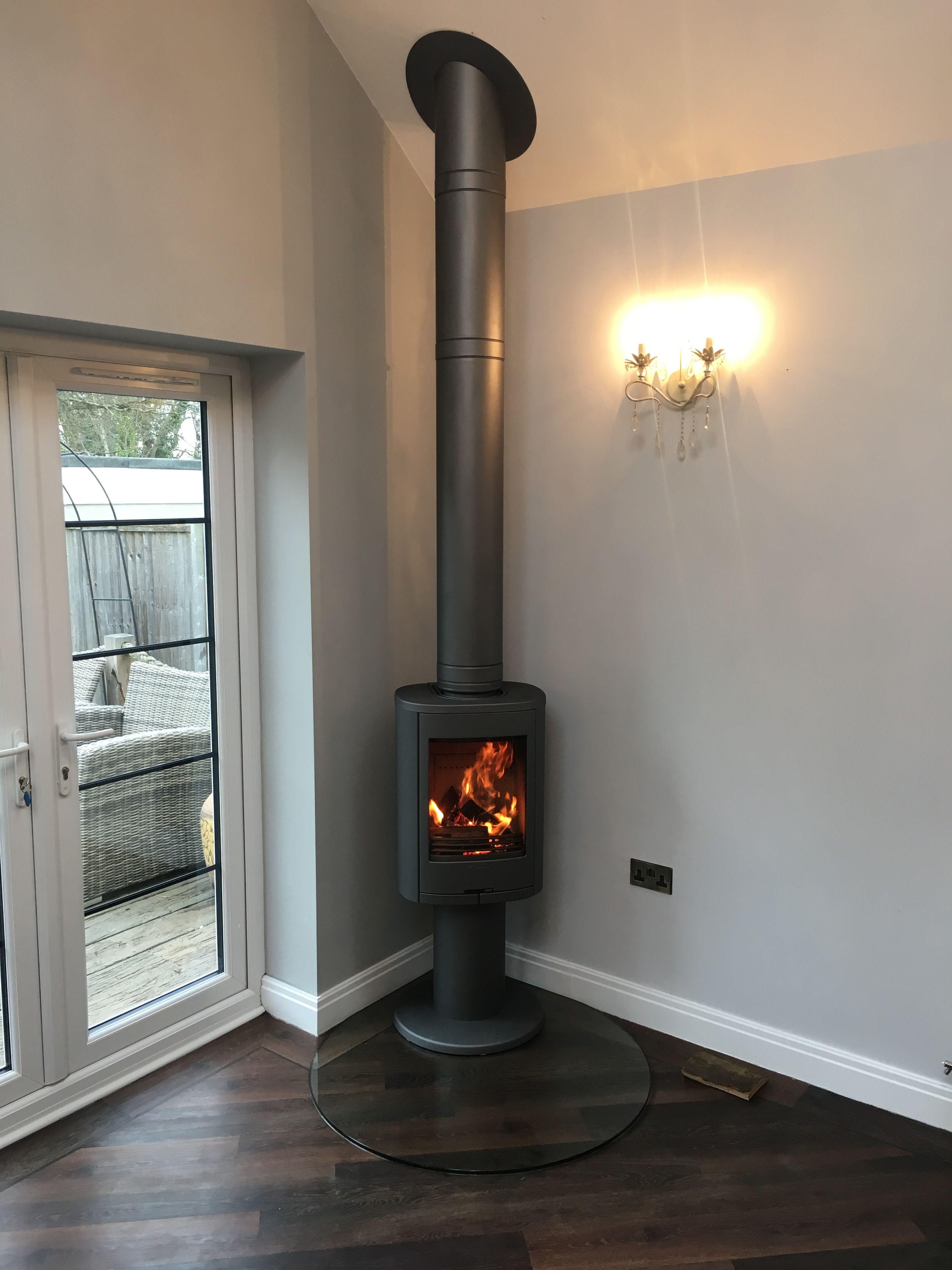 Contura 870 Woodburning Stove Wood Burner Fireplace Wood Stove Fireplace Corner Log Burner