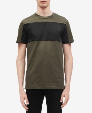7b6643e34 CALVIN KLEIN MEN'S COLORBLOCKED T-SHIRT. #calvinklein #cloth ...
