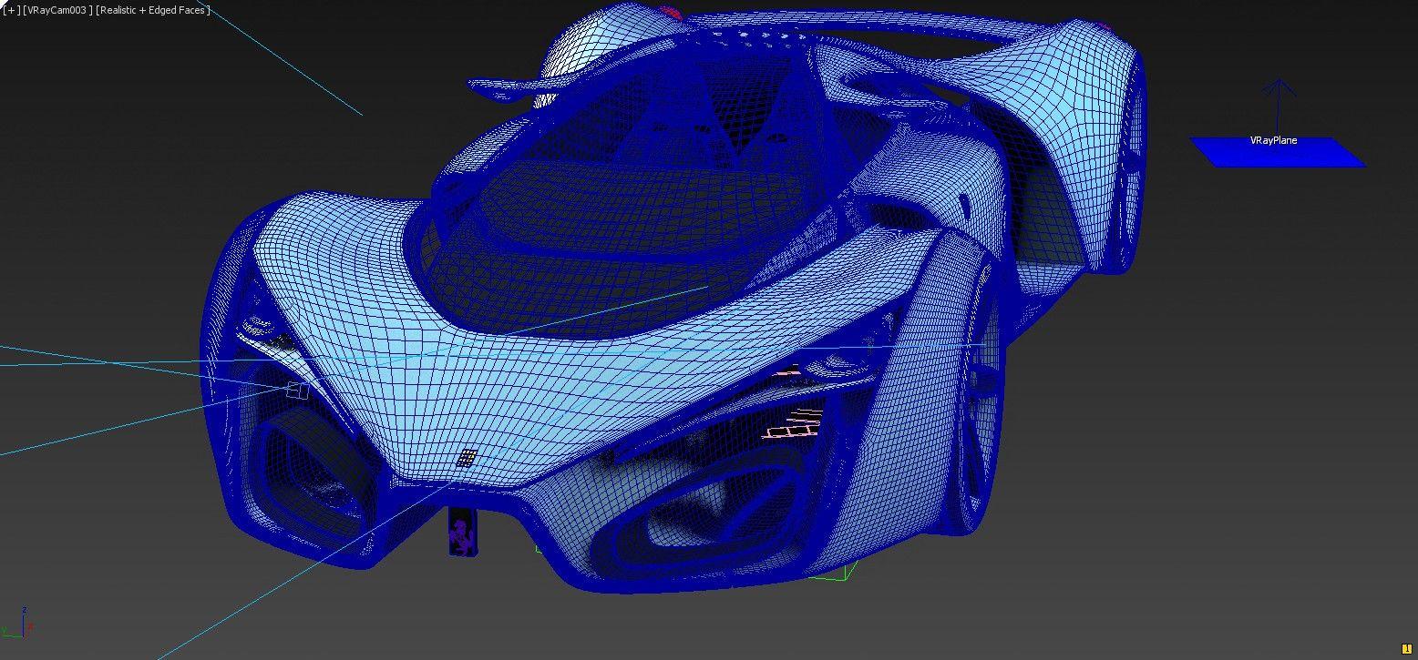 Concept, Ferrari F80 #3