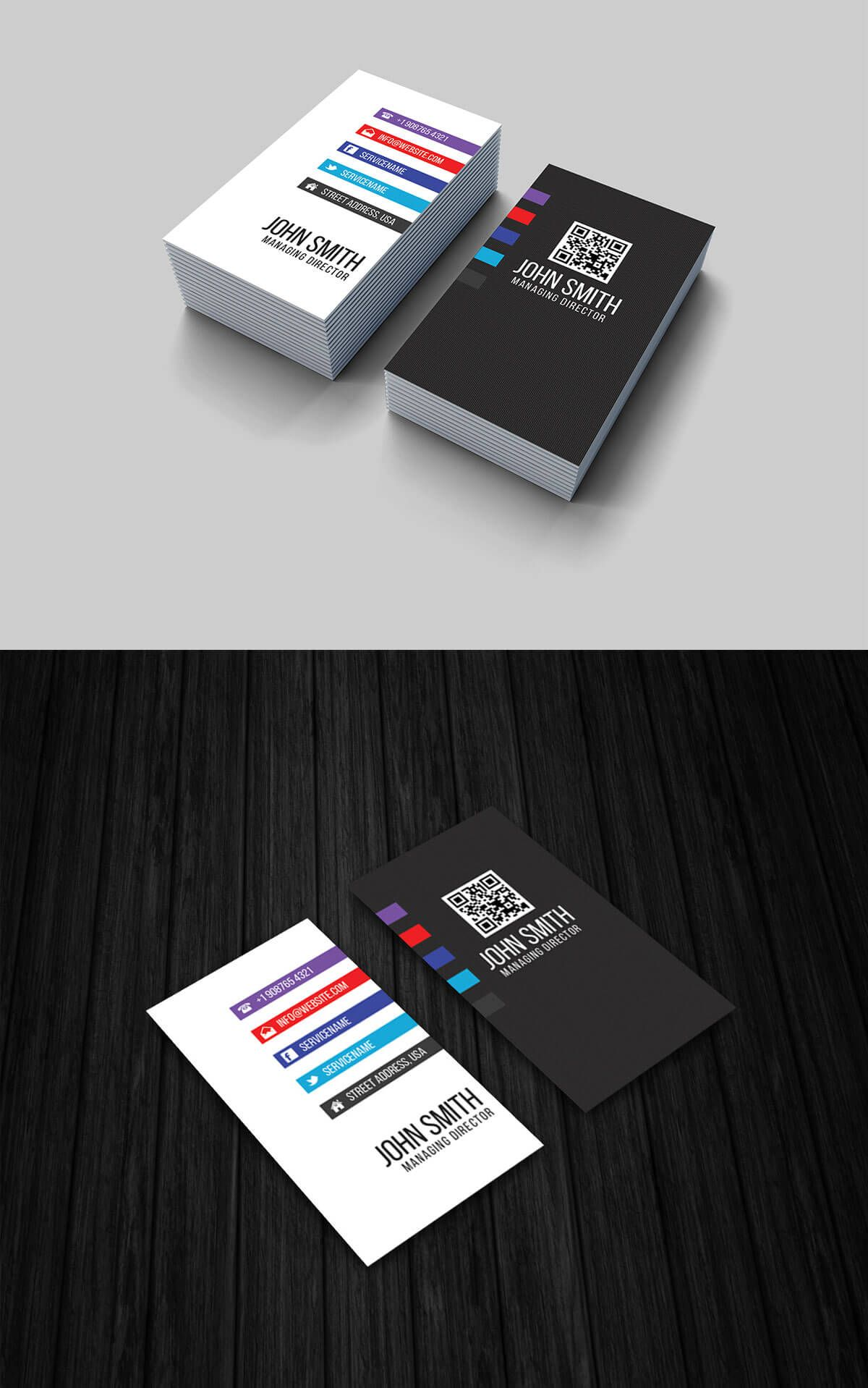 Free vertical business card template a group board graphic free vertical business card template cheaphphosting Choice Image