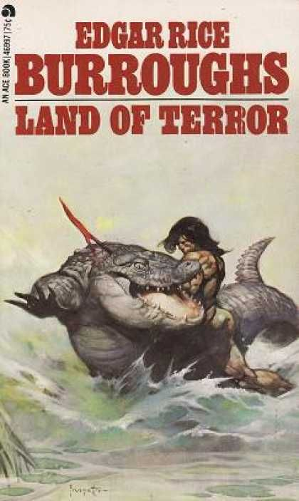 l and of terror burroughs edgar rice