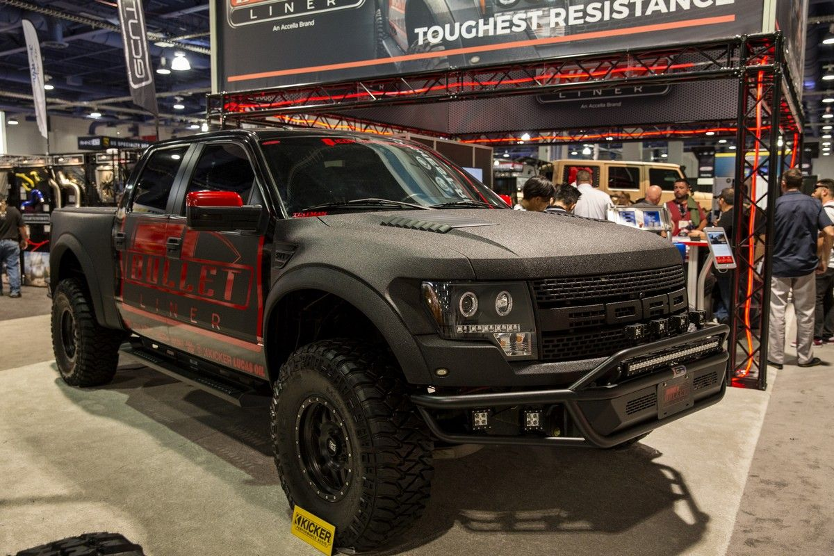 sema_bulletliner_01 Offroad vehicles, Truck bed, Ford bronco