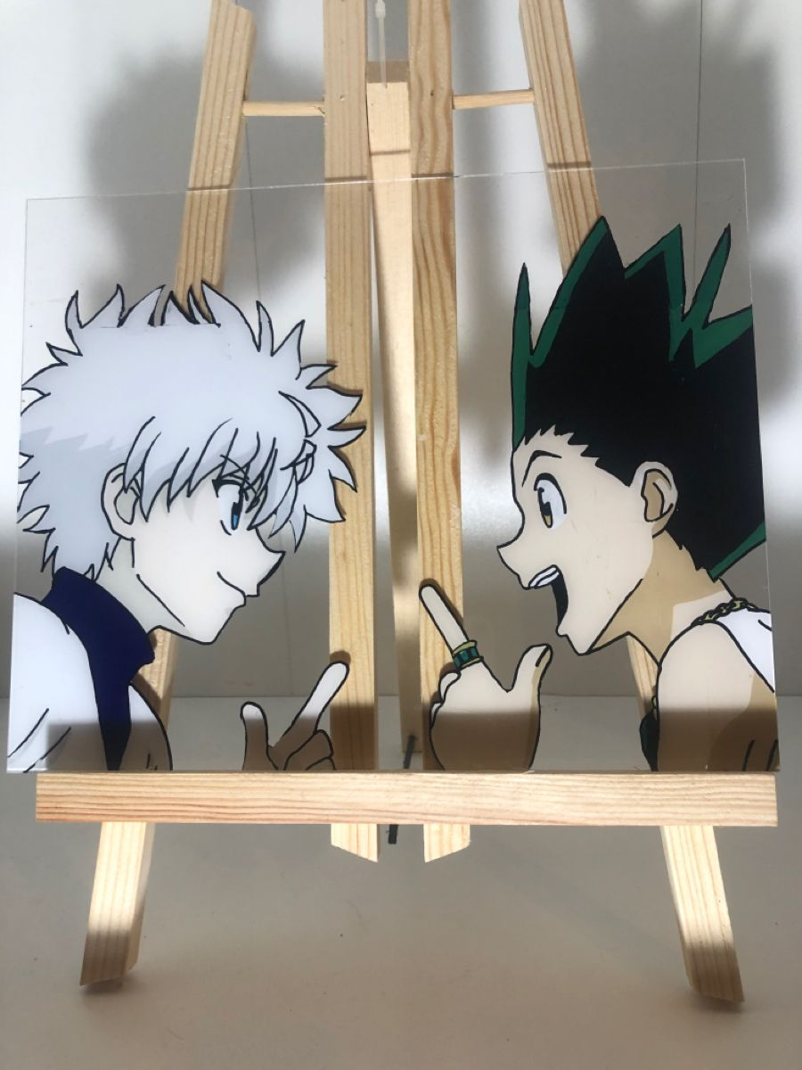 Gon and Killua Paintng