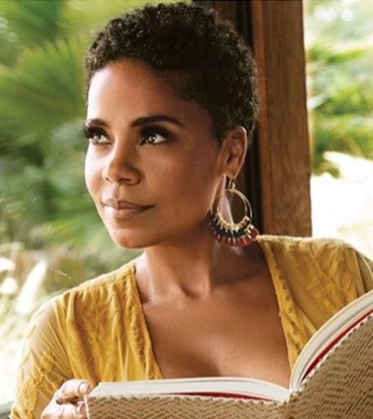 Sanaa Lathan Black American Hair Short Natural Hair Styles Natural Hair Styles