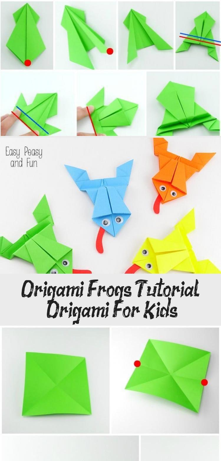 Photo of Origami Frogs Tutorial – Origami for Kids #origamiPassoAPasso #origamiRabbit #or…