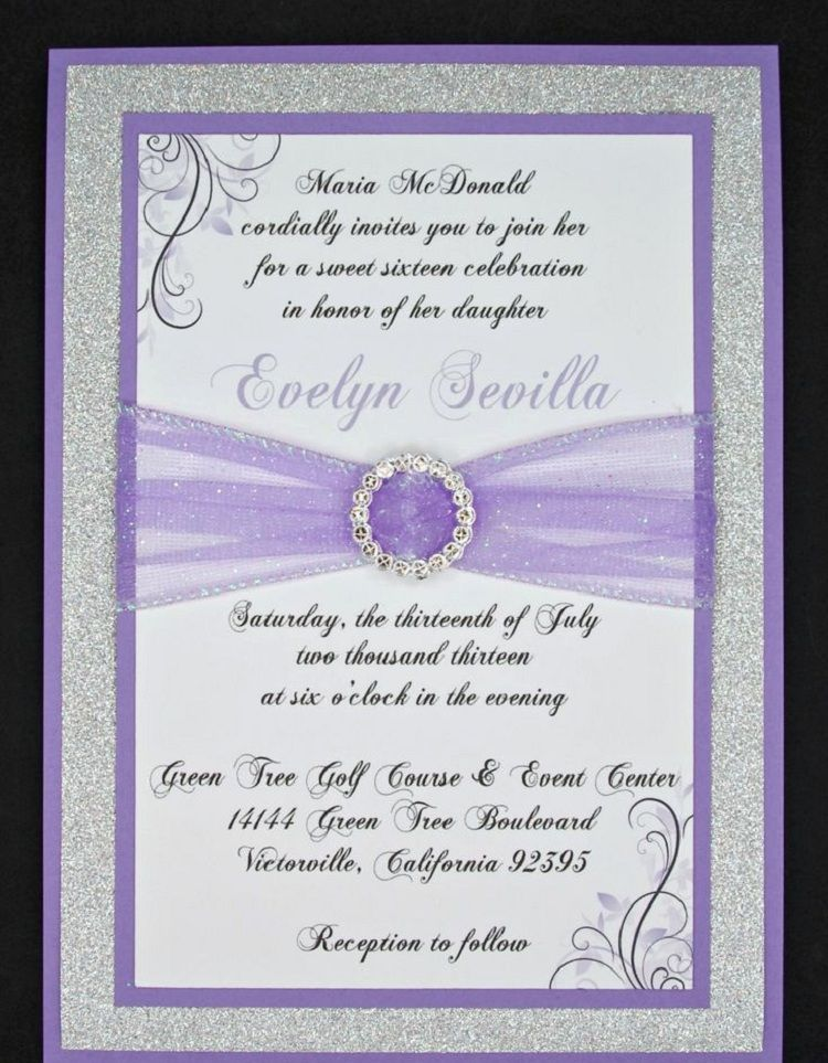 Quinceanera Invitation Templates Printable Invitation Card In 2019
