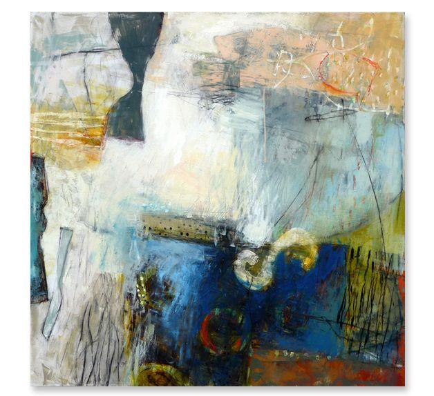 Krista Harris American Artist Inspiring Abstract Art In