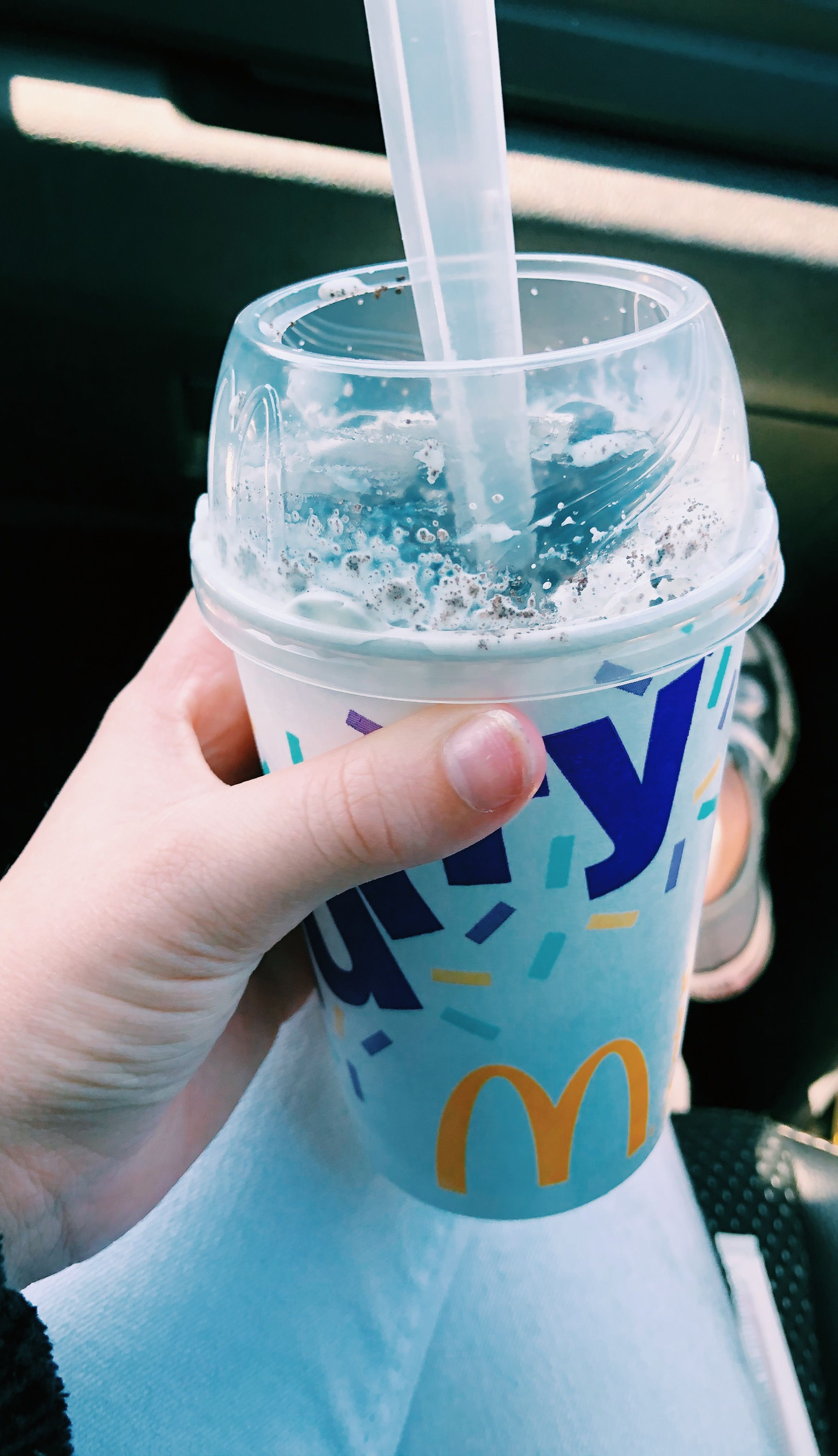 Aesthetic McFlurry in 2020 Mcflurry, Summer pictures, Yummy