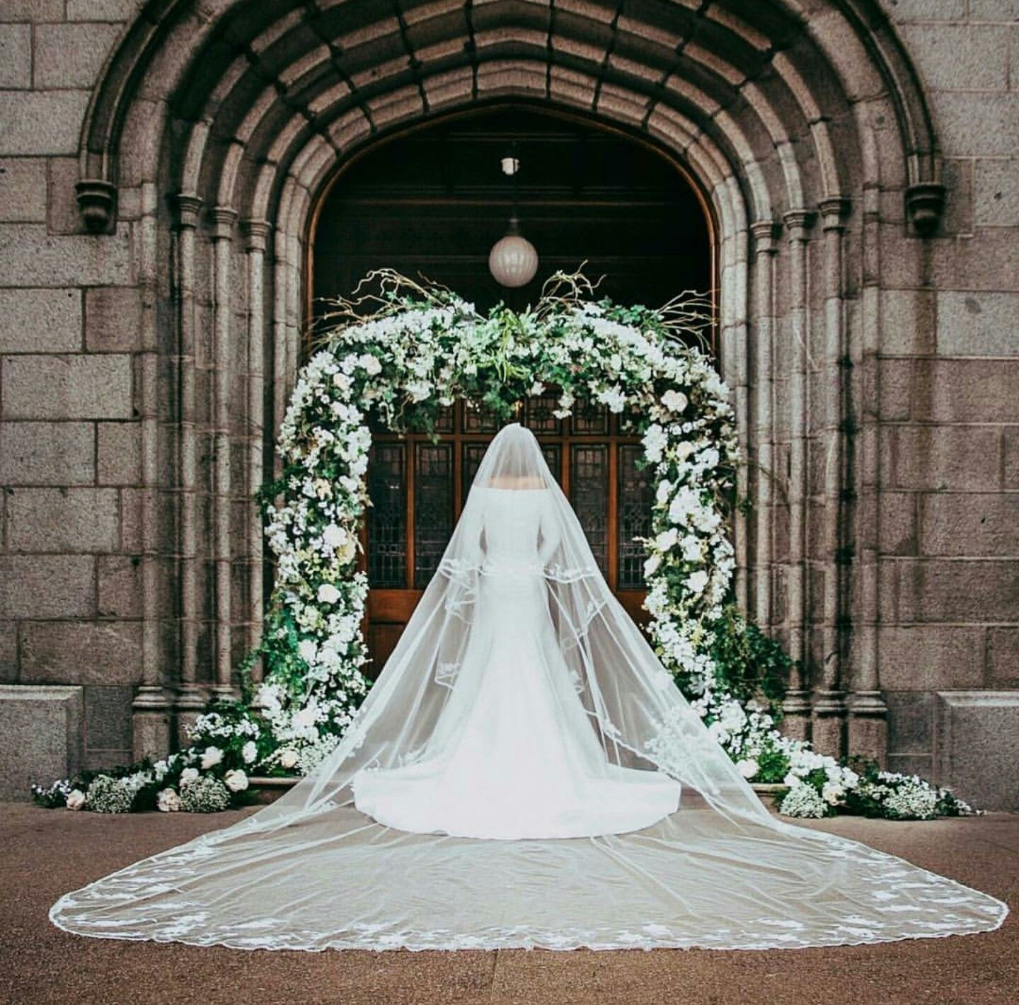 Cathedral Length Bridal Veil Inspired By Meghan Markle S 15 Ft
