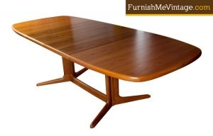 Vintage Skovby Danish Teak Dining Table Teak Dining Table