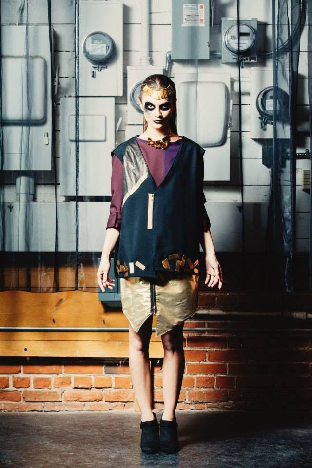 Fashion Designer Andyjones Fall2014 Dulareebyandyjones Canadian New Designer Fierce Model My Style Style