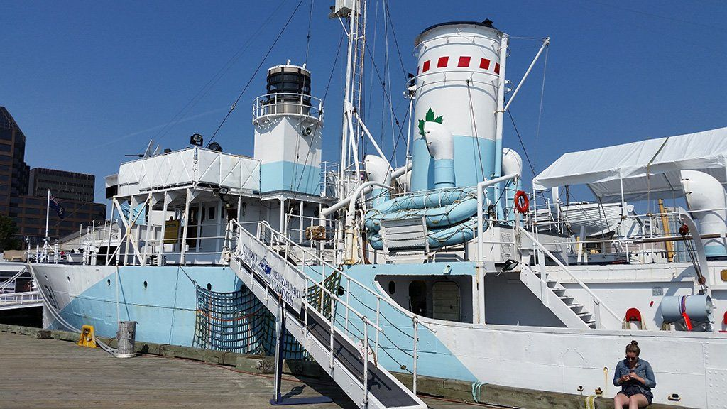 Flower Class Corvette HMCS Sackville Maritime