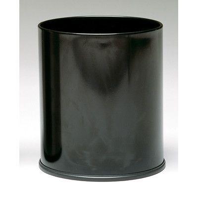 Witt Monarch 4-Gal Round Wastebasket Color: Stainless steel