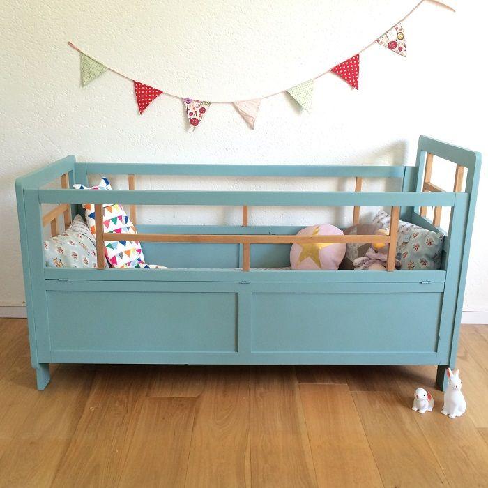 Lit Bebe Enfant Vintage Annees 50 Augustin 10 Deco Chambre