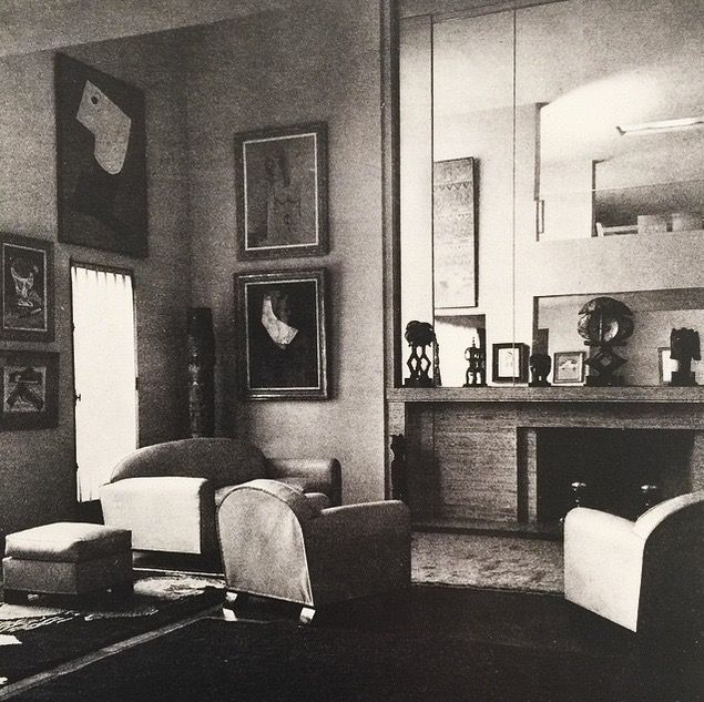 helena rubinstein 39 s apartment on boulevard raspail in paris 1933 art deco streamline. Black Bedroom Furniture Sets. Home Design Ideas