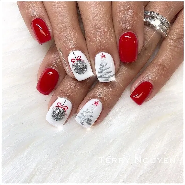 - Nails ❤️ - #Nails #holidaynails