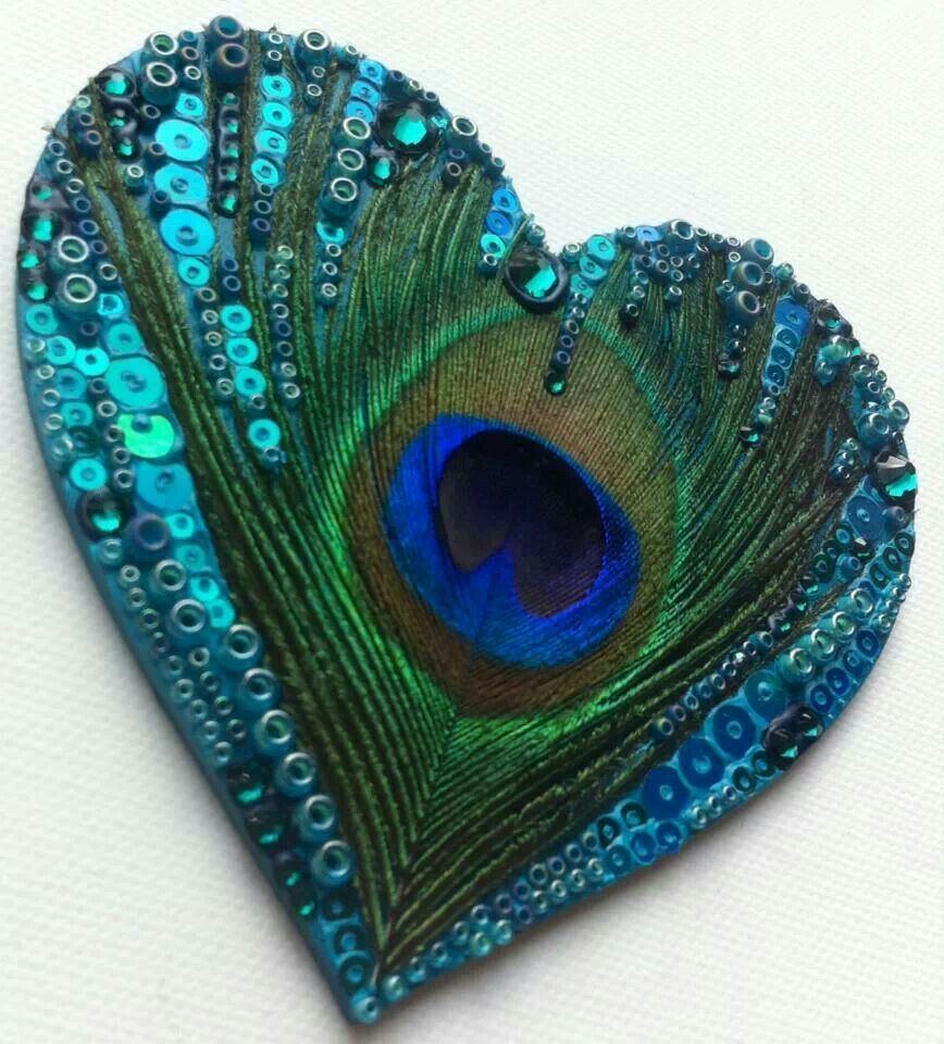 Peacock heart fiber play pinterest peacocks beads and what does a peacock feather symbolize our everyday life biocorpaavc Gallery