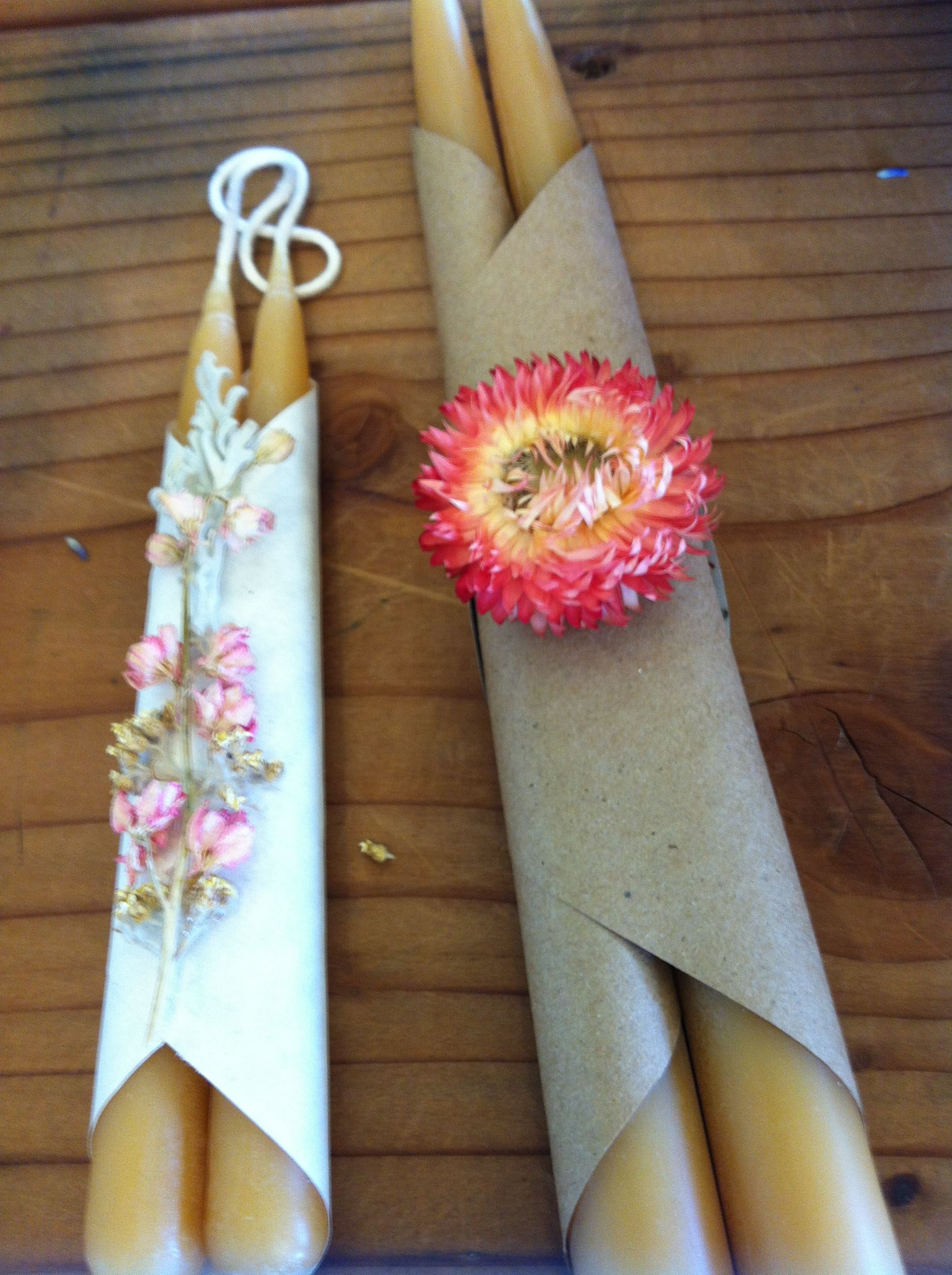 Handmade candles created by our trainees. Sales from the gifts go ...