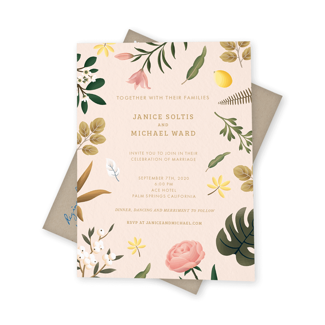 Postable makes snail mail easy! Custom invitations