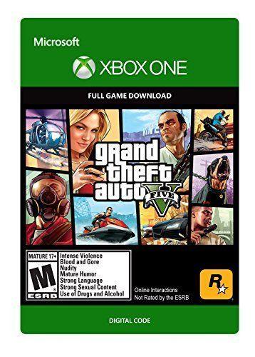 Grand Theft Auto V <b>Xbox One Digital Code</b> ** Continue to the ...