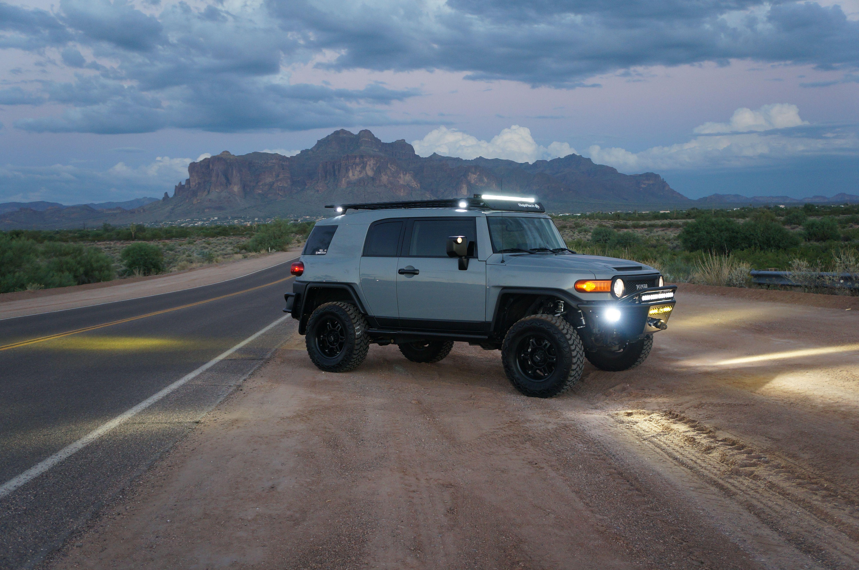 Death Valley Inyo Mine.   Toyota FJ Cruiser Forum