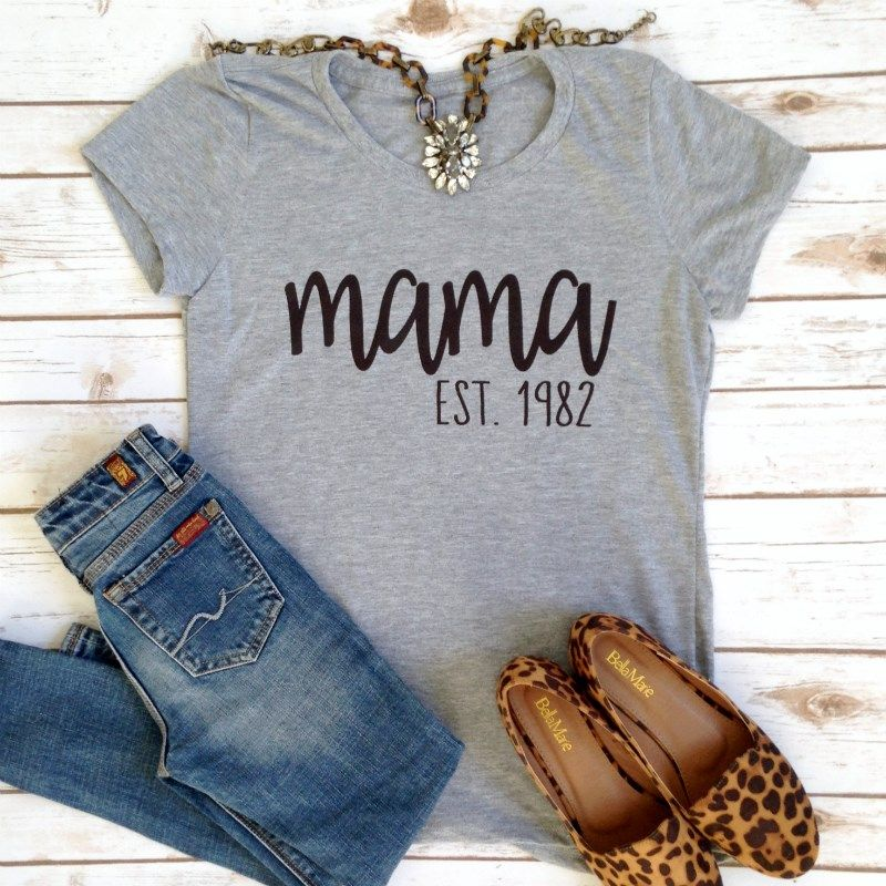 f0489d09 Custom Est. Date Tees | Top It Off | Diy shirt, Outfits, Fashion