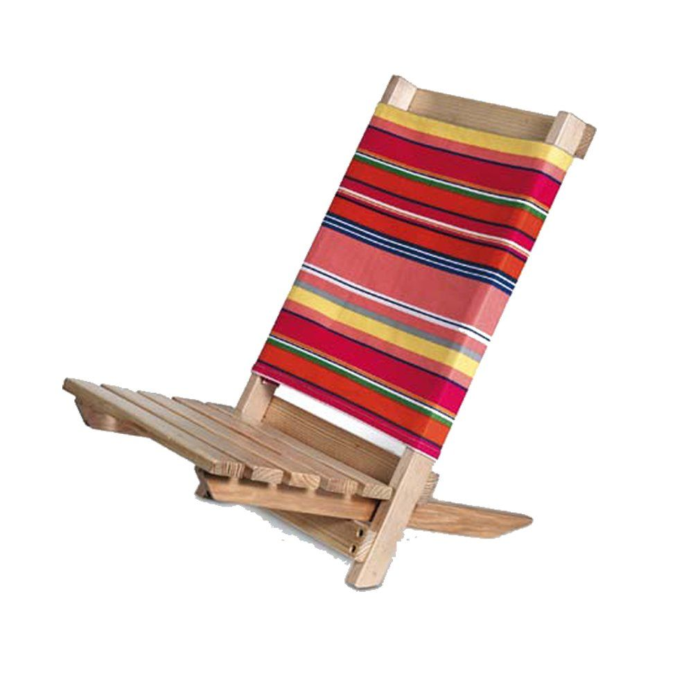Portable Wooden Low Chair Make One Like This Beach Chairs