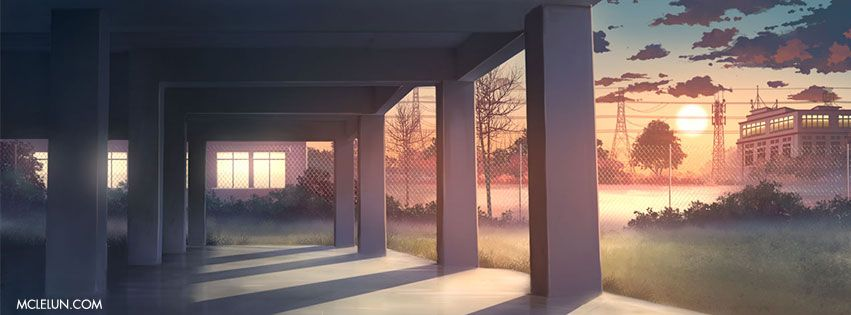 Outdoor Hallway Anime Background Anime Backgrounds Wallpapers Anime Scenery Wallpaper