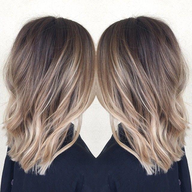 This Cut Beauty Balayage Frisuren Und Farbe Und Ombré