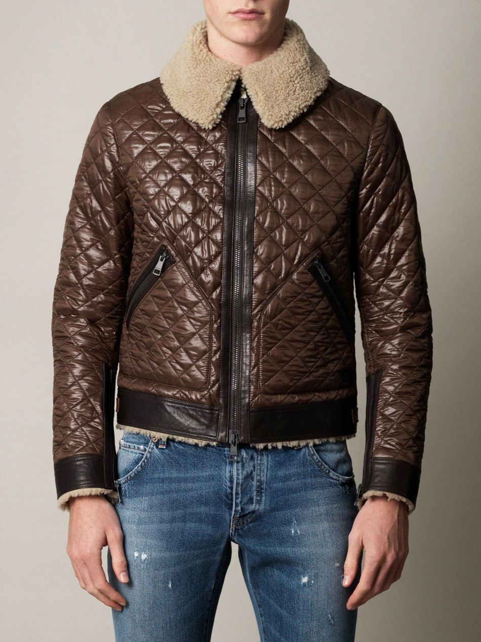 c5bfff74693 Burberry Brit Quilted Aviator Jacket
