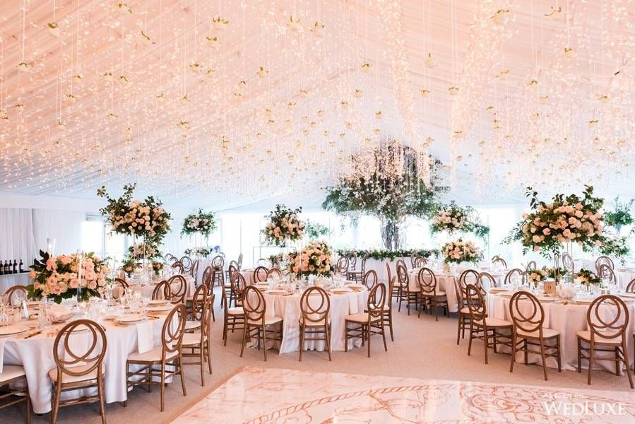 Country Chic Meets Gatsby Glam Tent wedding, Wedding