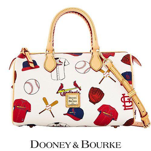 St Louis Cardinals Mlb Classic Satchel By Dooney Bourke