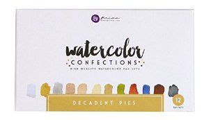 Amazon.com: Prima Marketing Watercolor Confections: Decadent Pies