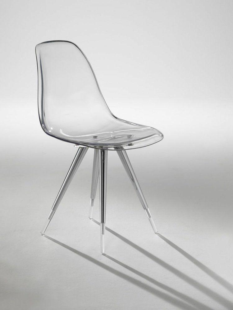 Chaise Design Transparente En 34 Modeles Legers Et Limpides Maison 2018 Chaise Design Chaise Plexiglas Chaise Transparente