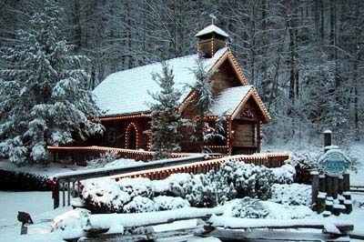Gatlinburg Chapels Little Log Chapel