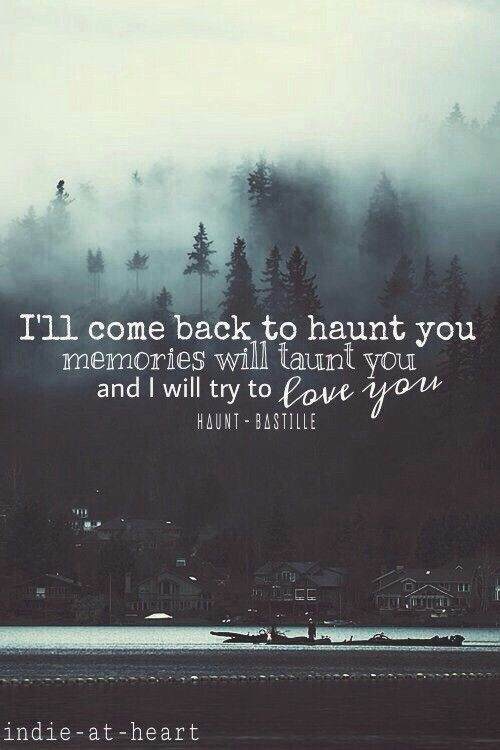 haunt bastille lyrics youtube