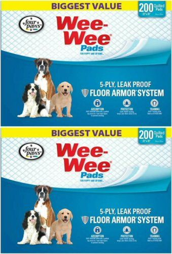 Four Paws Weewee Pads 400ct 2 X 200ct You Can Get More Details
