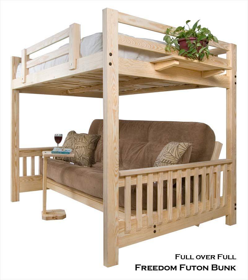 Full Futon Bunk Bed