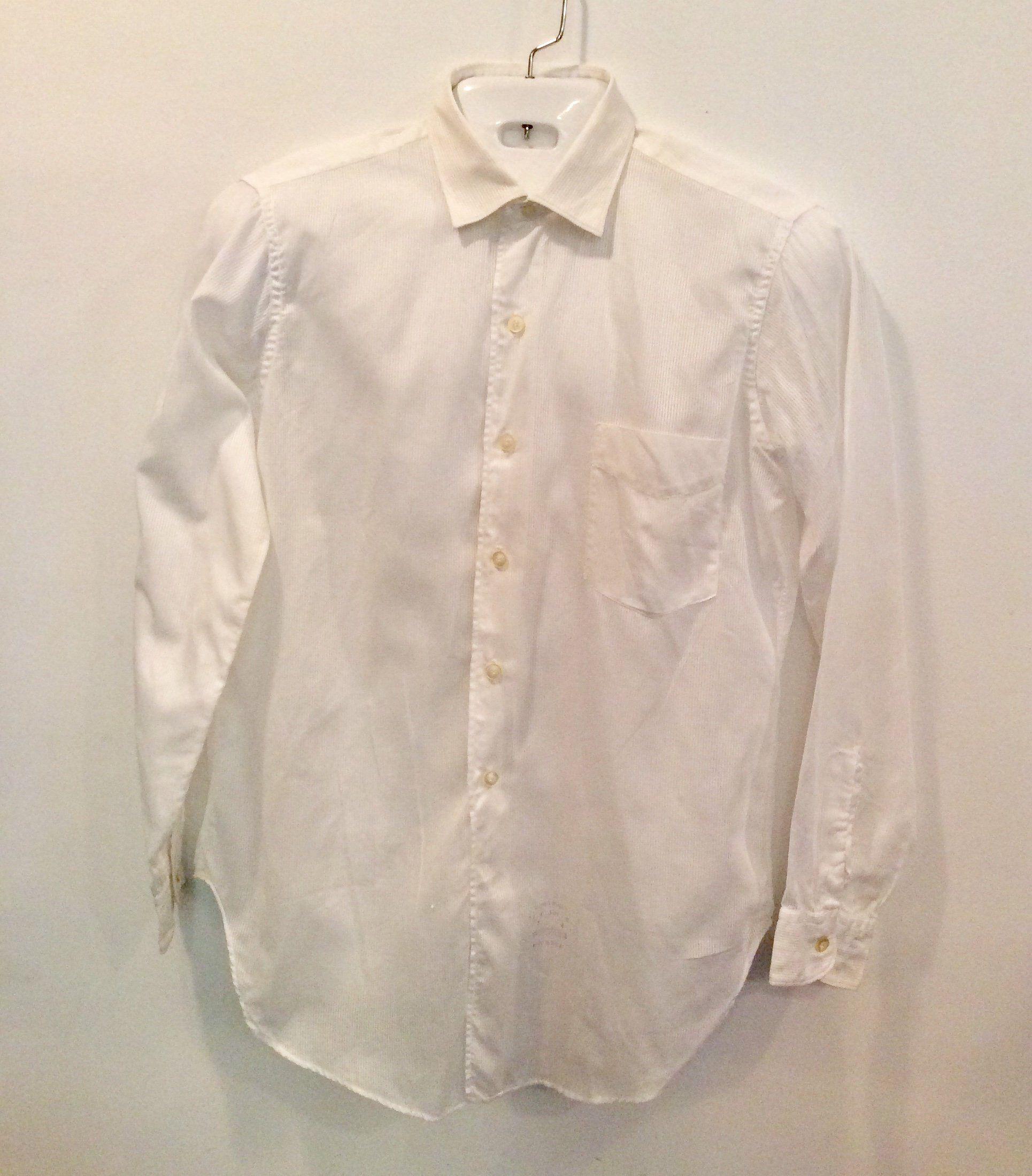 Vintage 1950s Mens Shirt Manhattan Koolpeek White Dress Shirt Etsy White Oxford Shirt Men White Dress Mens Shirt Dress