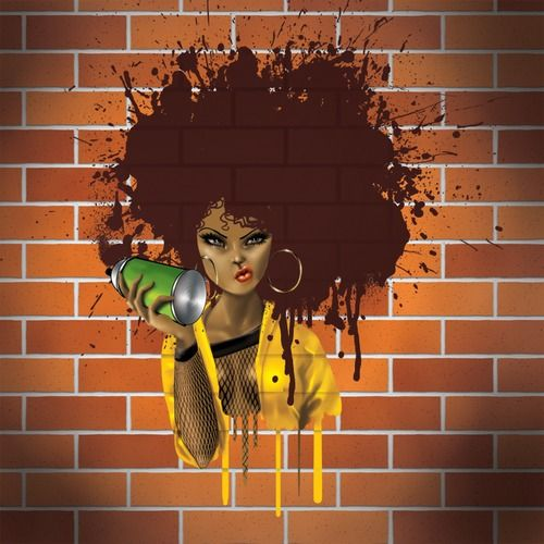 The 'fro is the ultimate expression of African hair...