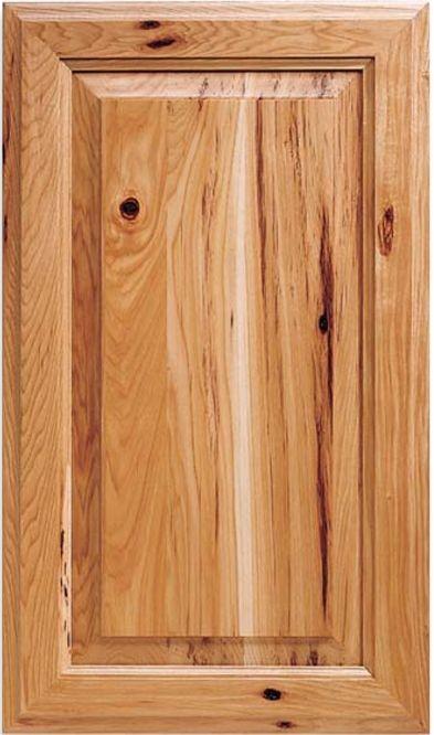 Custom Rustic Cabinet Doors Juanita C Panel Hickory Door