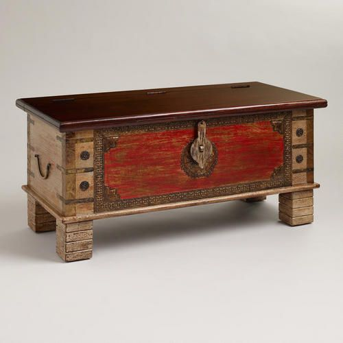 One of my favorite discoveries at WorldMarket.com: Aman Trunk