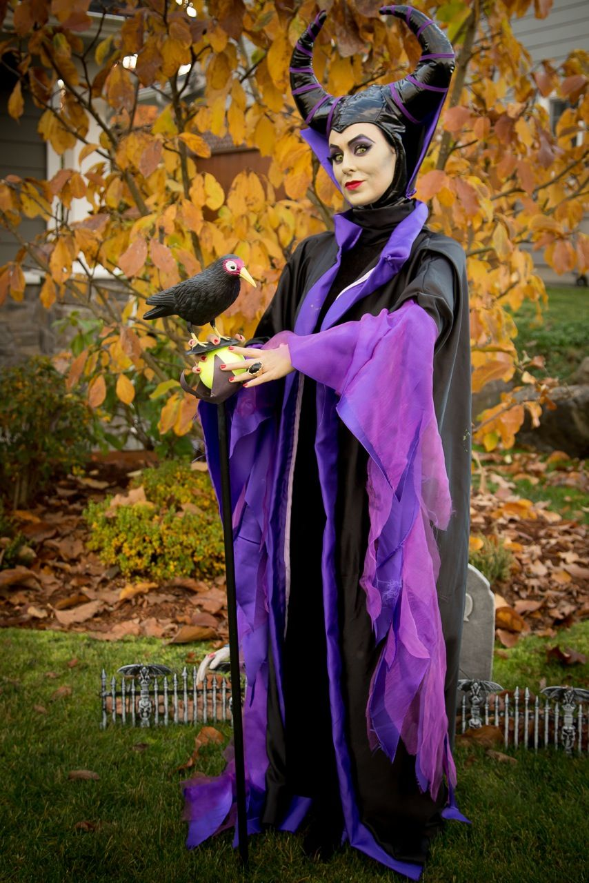 Maleficent costume Halloween 2013; amazing dress up by a friend ...