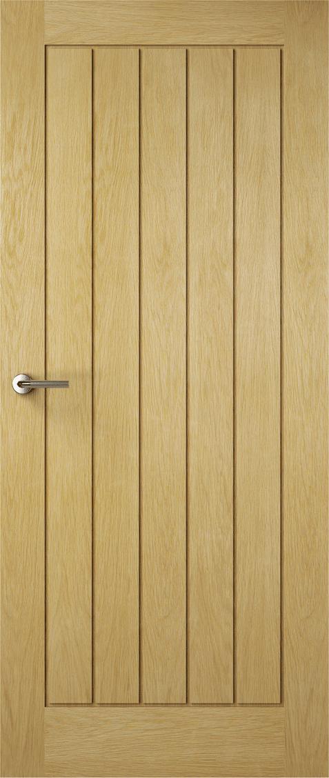 Premdor Internal Contemporary Oak Croft Solid Doors Interiors